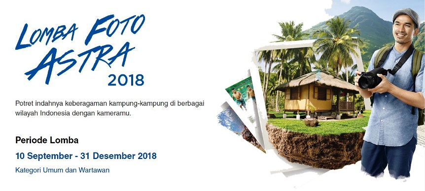 lomba foto astra 2018