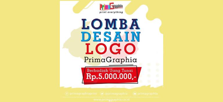 Desain Logo PrimaGrapia