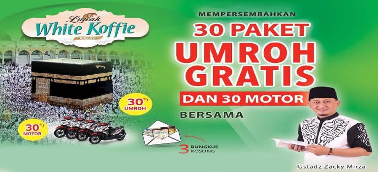 Umroh Bareng luwak white coffee