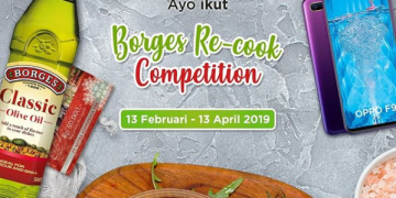 Borges Recook Competition Berhadiah Oppo F9