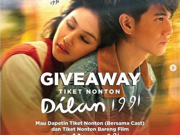 Tiket Nonton Dilan Gratis!