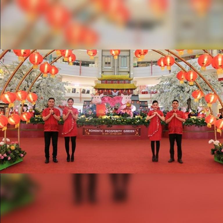 Romantic Prosperity Garden Instagram Photo Competition!
