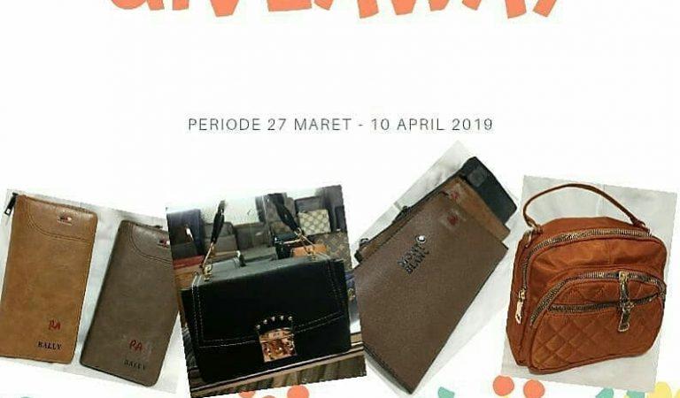 Giveaway Handbag Serta Dompet Cantik