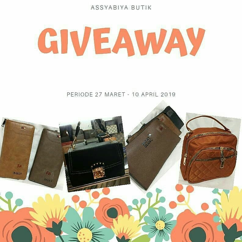 Giveaway, assyabiya Butik