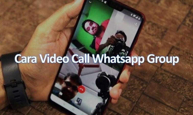 Cara Video Call Whatsapp Group Lebih dari 2 Orang