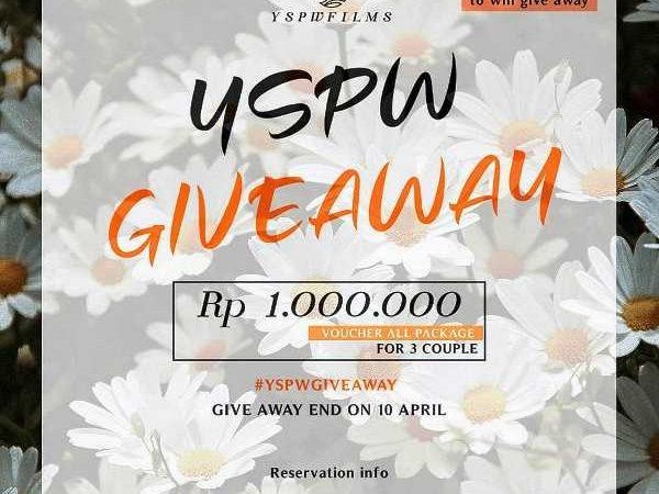 Yspwfilms Memberikan Giveaway Voucher Senilai 1.000.000!