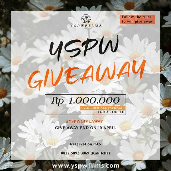 yspw giveaway