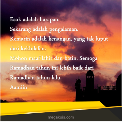 2 Ucapan Menyambut Ramadhan untuk Teman dan Keluarga