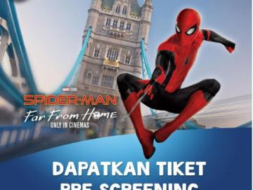 Dapatkan Tiket Pre-Screening Untuk 10 Pemenang Dari bliblidotcom