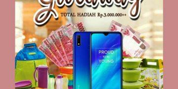 Giveaway, Berhadiah Uang Rp.3.000.000