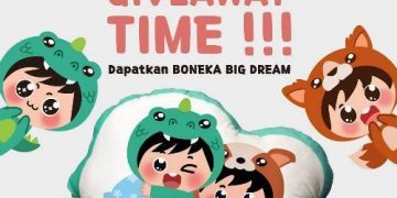 Giveaway Bantal Big Dream Dari Pokana Family