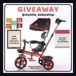 Giveawaye mykha_babyshop Berhadiah Sepeda Sroller Roda Tiga