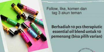 Ada Giveaway Dari Sophioilove Berhadiah 1 Pcs Oil Blend