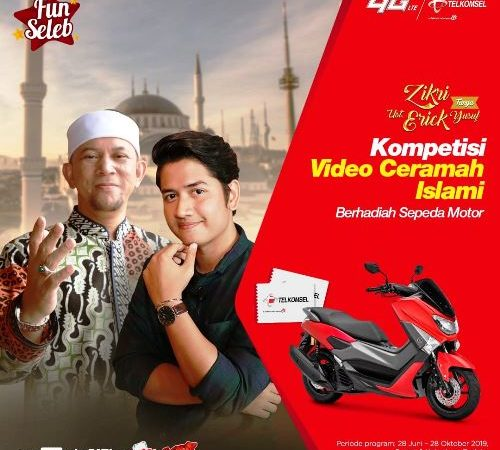 Kompetisi Video Berhadiah Motor Yamaha N-Max Dari FunSeleb.ID
