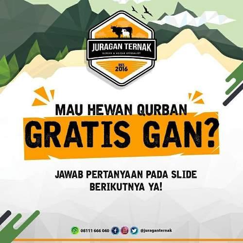 Juraganternak-Bagi-bagi-Hewan-Qurban-Gratis!!