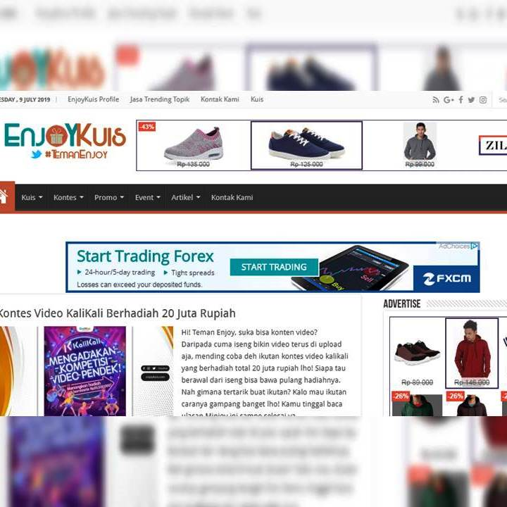 Situs Tentang Enjoykuis.com