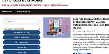 Situs Tentang Infokuisberhadiah.com