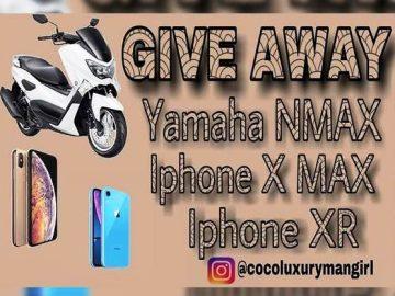 Yuk Ikutan!! Giveaway Berhadiah 1 Unit Motor Yamaha NMAX Dari Cocoluxurymangirl