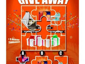 Giveaway Berhadiah HP Samsung A10 Dari Echodailywear