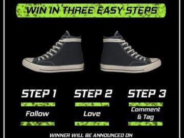Giveaway Berhadiah Sneaker Converse or Vans Dari Ferkicks