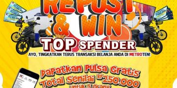 Yuk Ikutan Giveaway Berhadiah Pulsa Gratis Dari Metroten.id