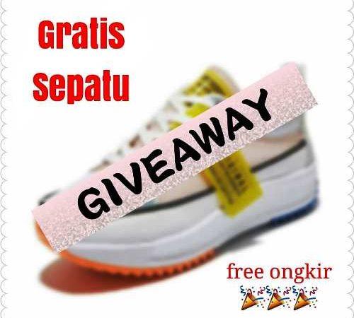 Giveaway Berhadiah Sepatu Dan Bebas Ongkir dari fitri_balfot813