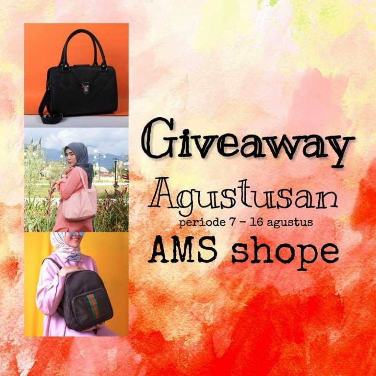 Giveaway Agustusan Dari AMS Shope