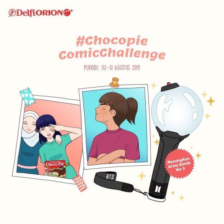 Ikuti Chocopie Comic Challenge Dan Dapatkan BTS Official Lightstick Ver 3 Dari Delfiorion