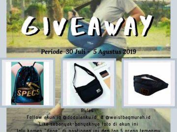 Giveaway Berhadiah Tas Keren Dari Dodolanku.id_