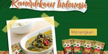 Giveaway Pakrasa Menuju 74 Kemerdekaan Indonesia