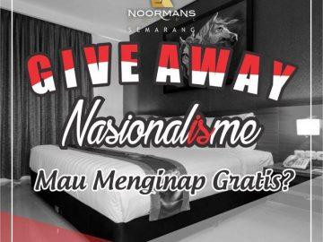 Yuk Ikutan Giveaway Berhadiah Voucher Menginap Dihotel Gratiss!! dari Noormanshotel