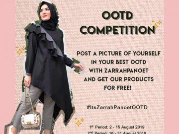 Competition Ootd Berhadiah 1 Produk Dari Zarrahpanoet