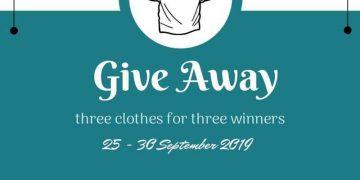 Raja_kaospolos Lagi Mengadakan Giveaway Berhadiah Baju Polos!!