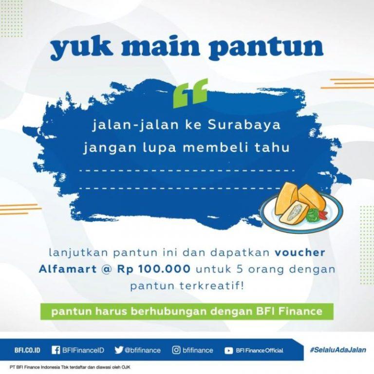 Yuk Main Pantun dari BFI Finance Indonesia dan Menangkan Hadiahnya!!