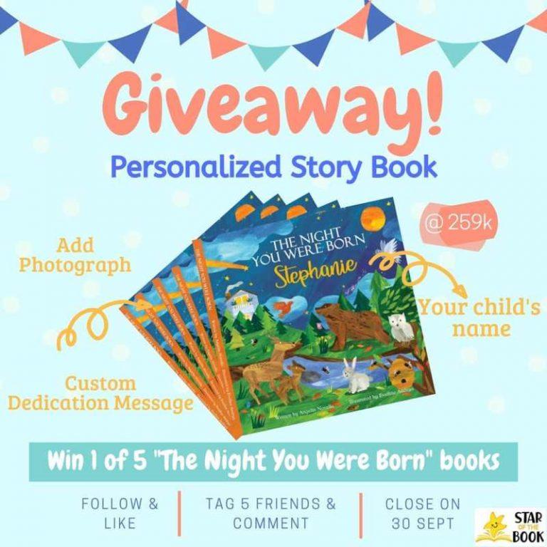 Yuk Buruan!! Ikuti Giveaway dari Starofthebook Berhadiah Buku Cerita Kece!!