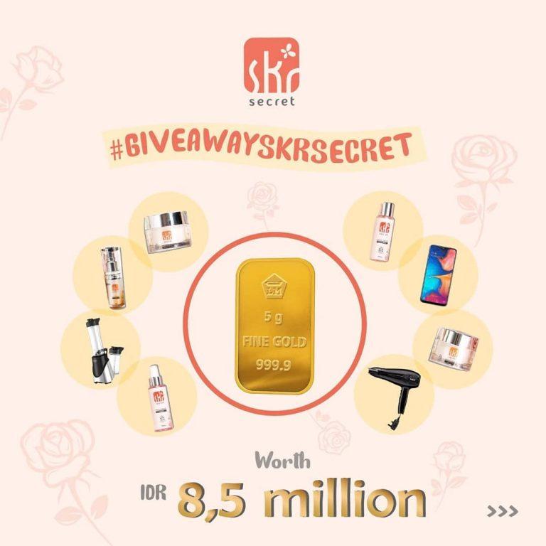 Yuk Ikutan !! Giveaway SKR Secret Banyak Hadiahnya!!