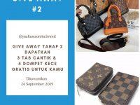 Yuk Ikutan!! Giveaway Berhadiah Tas Cantik dari Jualtaswanita.brand