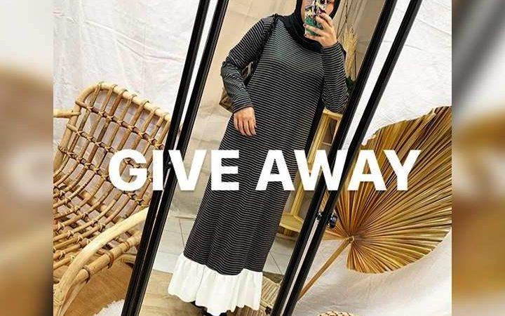 Hamscarf.id Bagi-bagi Dress Cute Stripe Gratis!!