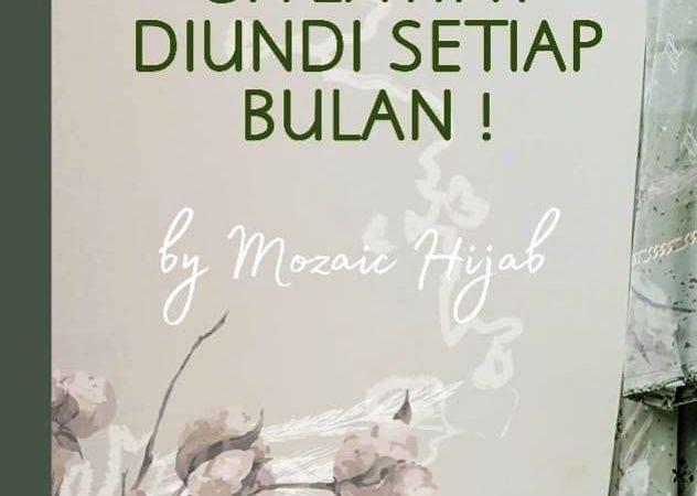 Mozaic Hijhab Mengadakan Giveaway Berhadiah Hijab, Rok Plisket Gratiss!!