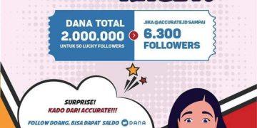 giveaway berhadiah uang senilai 2.000.000