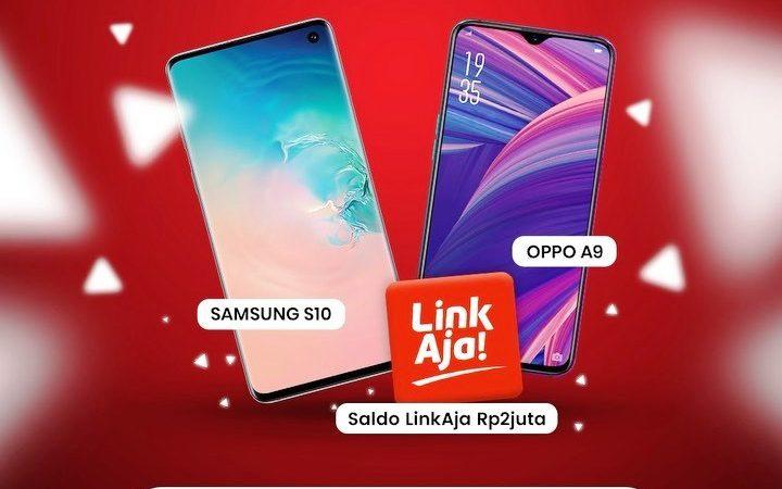 Jawab Fitur Aplikasi MyTelkomsel, Dapatkan Smartphone Samsung S10 dan OPPO A9
