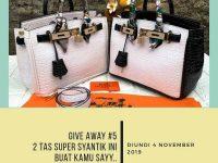 Giveaway Berhadiah 2 Tas Syantik dari Jualtaswanita.brand