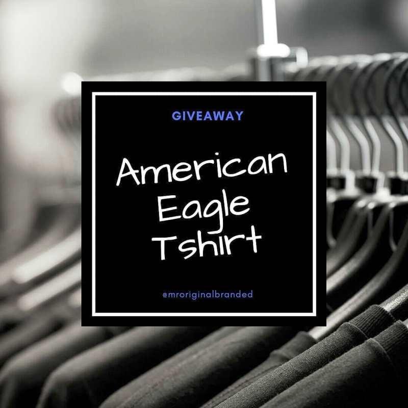 Mroriginalbranded Bagi-bagi Tshirt American Eagle