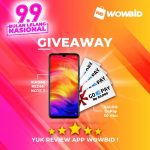 Giveaway Redmi Note 7 & Saldo Gopay dari Wowbidlive