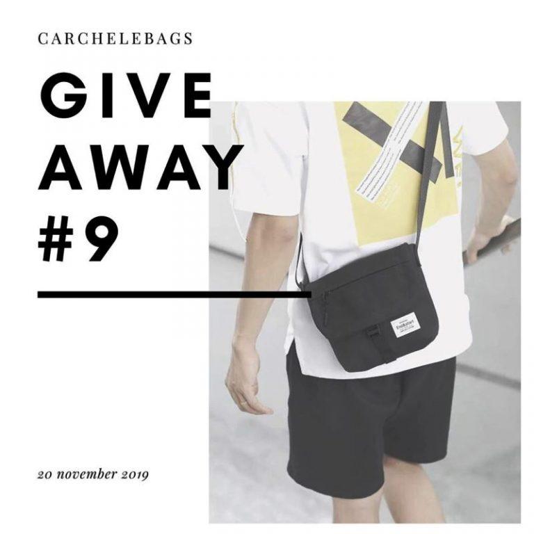 Ada Giveaway Berhadiah Tas Gratis dari Carchelebags