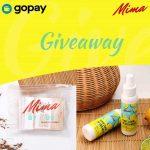 Yuk Ikutan Giveaway berhadiah 3 Paket Mima dan Gopay Rp.50.000 dari Hello.mimaofficial