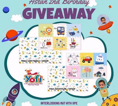 Giveaway Berhadiah Interlocking Mat With XPE dari Yofi official