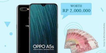 Yuk Ikutan Giveaway Gratis!! Berhadiah HP OPPO A5s dan Uang Tunai