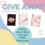 Wow Ada Giveaway Berhadiah Notebook dari Altenhaus