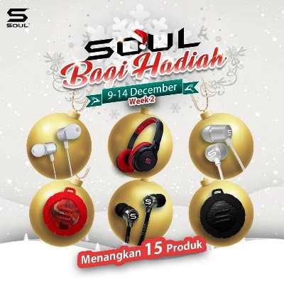 Ada Kuis Berhadiah dari Soul Electronics,Yuk Ikutan !!